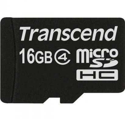 transcend 16 gb class 4 microsdhc card (ts8gusdc4)