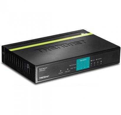 trendnet 8-port 10-100mbps poe switch