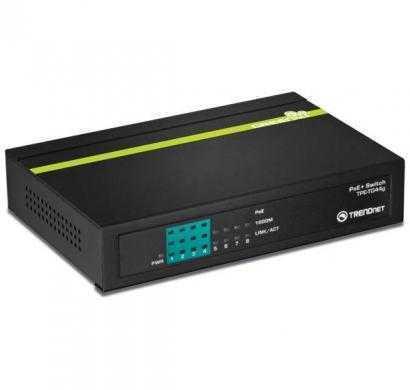 trendnet 8-port gigabit greennet poe switch