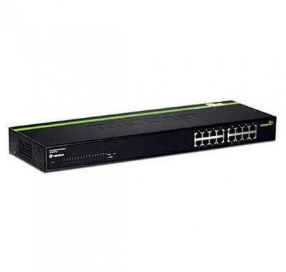 trendnet te100-s16g -16-port 10-100mbps greennet switch