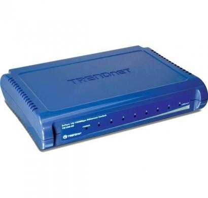 trendnet te100-s8-8-port 10-100mbps fast ethernet switch