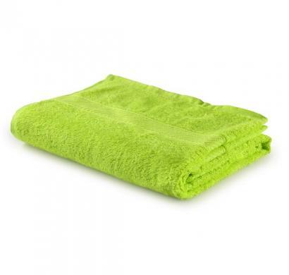 trident lime green cotton bath towel