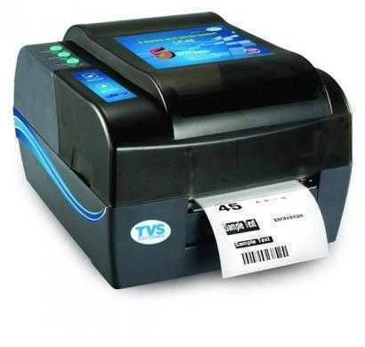 tvs lp 45 barcode 4inch label printer