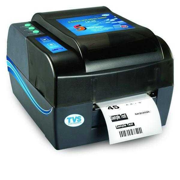 TVS LP 45 Barcode 4inch Label Printer