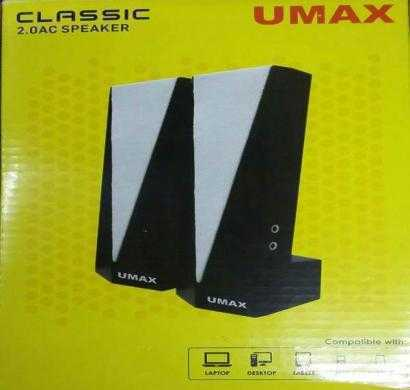 umax classic 2.0 ac speakers
