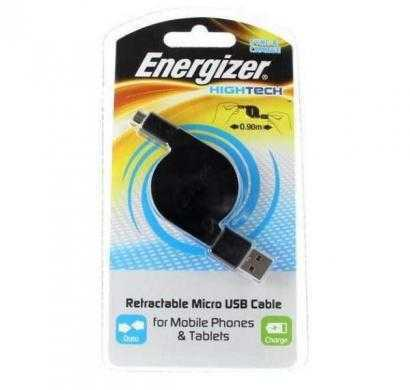 usb retractable cable for smartphones and tablets micro-usb