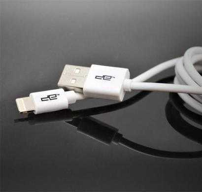 usb round cable white - 8 pin deca-1002r(wht8p)