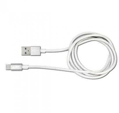 usb ultra tough cable silver - 8 pin demfi-1500-slv