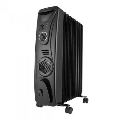 usha ofr 3209 fb oil filled room heater (black)