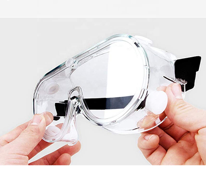 value cart safety goggles protective eye wear clear anti-fog eye protection goggles safety (pack of 3)