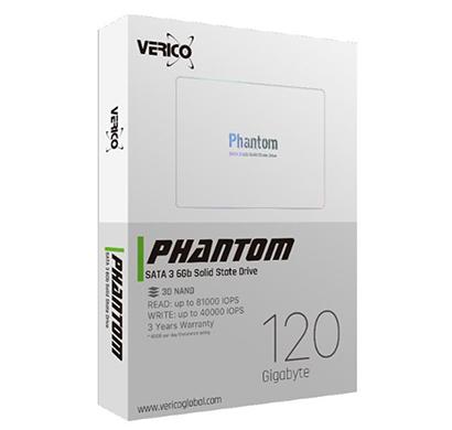 verico (phantom 120gb) sata 3 6gb solid state drive 3d nand 3 years warranty