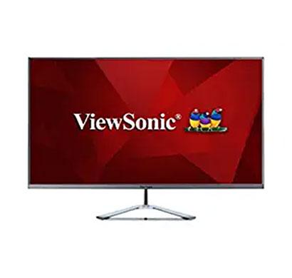 viewsonic vx3276-2k-mhd (32 inch) 2k resolution 1440p, ips panel, frameless monitor, hdmi (black)