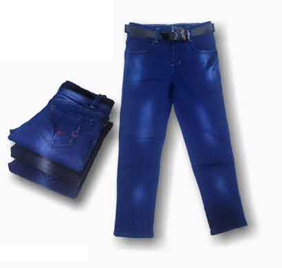 way 2 jeans kids for boys regular fit black and blue (26x30)