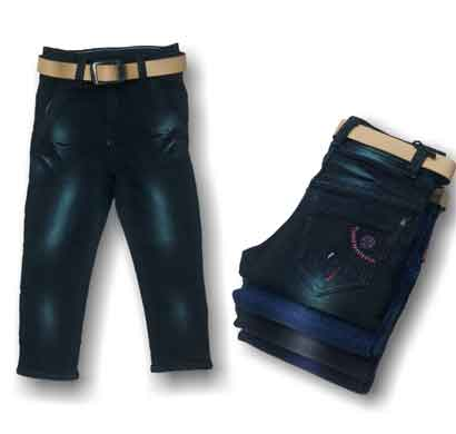 way 2 jeans kids for boys regular fit black and blue (22x30)