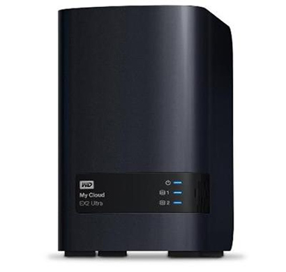 wd my cloud ex2 ultra 4tb wired external hard disk drive