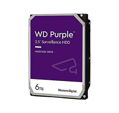 wd (wd62purz) 6tb purple surveillance hard drive