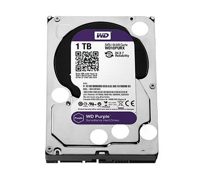 wd (wd10purx) 1tb purple surveillance internal hard drive