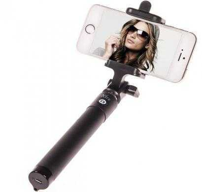xtra xt-click premium selfie stick for apple and android devices (black)