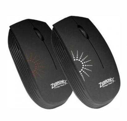 zebronics sun usb (wired) optical mouse (black)