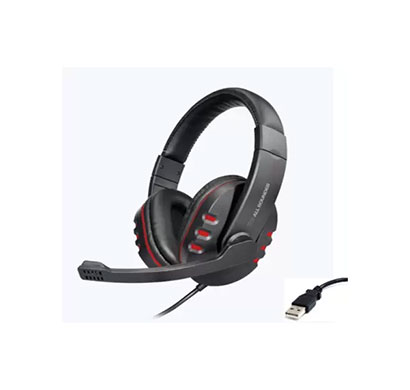 zebronics zeb all rounder usb with mic wired headset