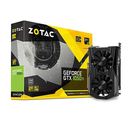zotac geforce gtx 1050 ti mini zt-p10510a-10l 4gb gddr5 pci express graphics card