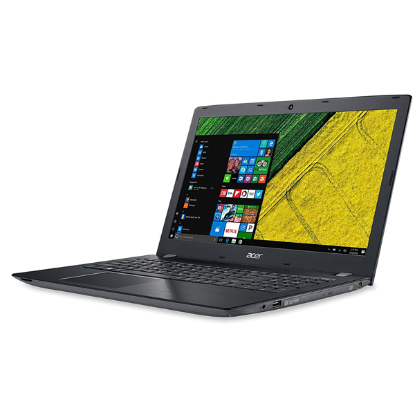 Acer Notebook E5-576 15.6-inch Laptop (Core i3-6006/ 4GB RAM/ 1TB HDD/ DOS/ Integrated Graphics), (With Bag) Black