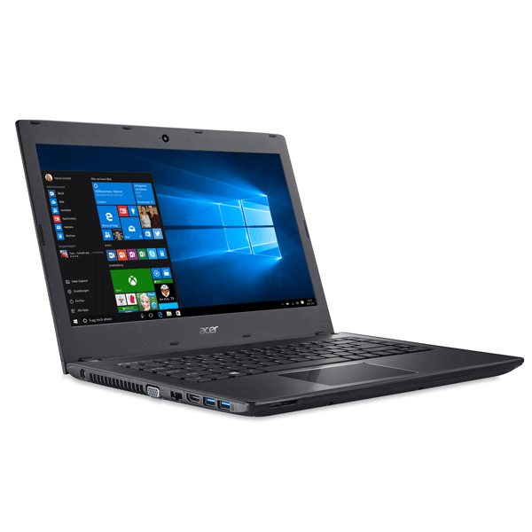Acer TMP 249-M Pentium Dual Core/ 4GB RAM/ 500GB HDD/ DVD/ DOS/ Integrated/ 14 inch/ Web Cam/ 3 Years warranty Black