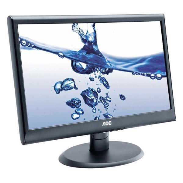 AOC 18.5 inch HD LED - E950swhen Monitor (Black)