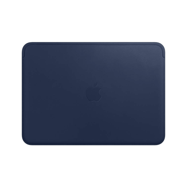 Apple Leather Sleeve (for MacBook 12-inch) - Midnight Blue