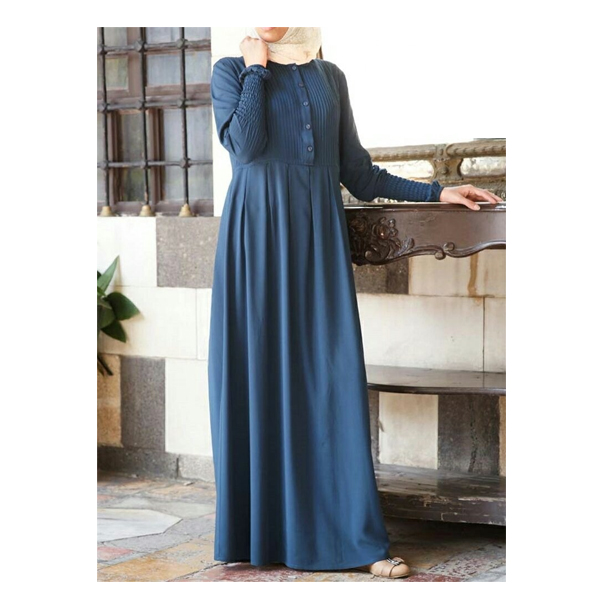 Arihant (101) Islamic Abaya. Size Large & Extra Large, BSY Fabric, Burkha Dress (Navy Blue)