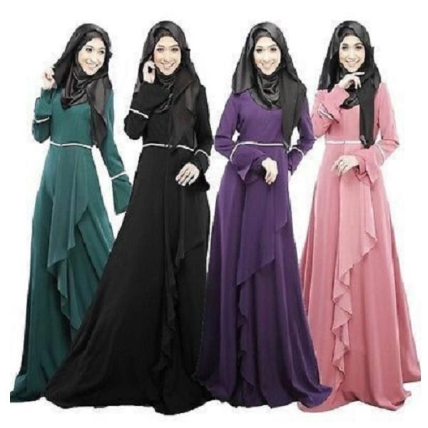 Arihant (105) Islamic Abaya, Size Large & Extra Large, Lycra Fabric,Burkha Dress ( Multicolor)
