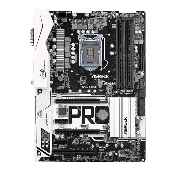 ASROCK H270 PRO4 (LGA1151) 6TH AND 7TH GENERATION MOTHERBOARD