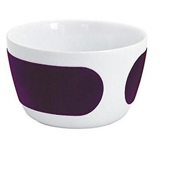 Aubergine Velvet Bowl, 14 cm