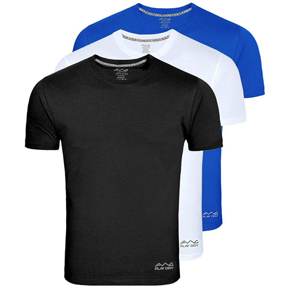 AWG 100ANB (150 GSM) Drifit Performance Sports Round Neck T-shirt Royal Blue