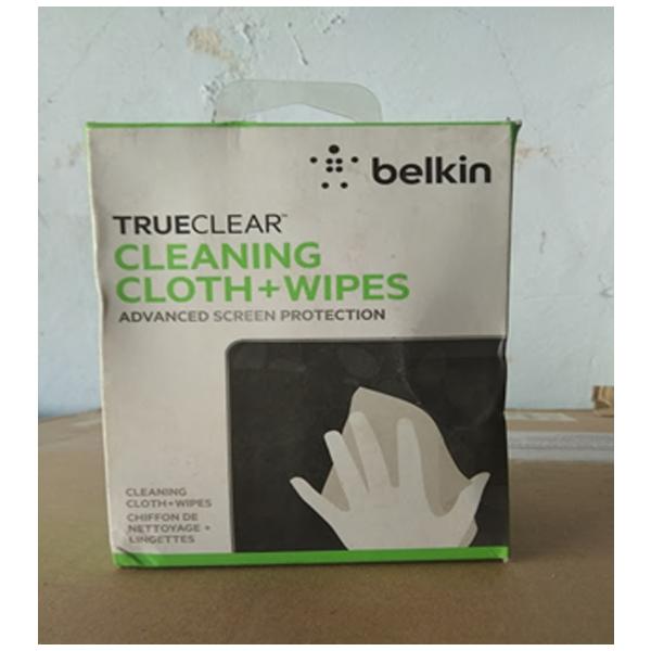 Belkin- Trueclear Cleaning cloth wipes