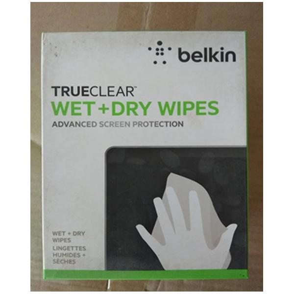 Belkin - Wet , Dry Wipes