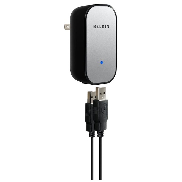 Belkin- dual USB power adapter