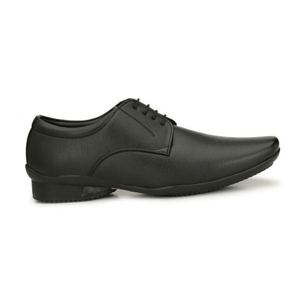 Blanc PURU-710600BM0009 Derby/ Artificial Leather/ Formal Shoes/ Size 9/ Black