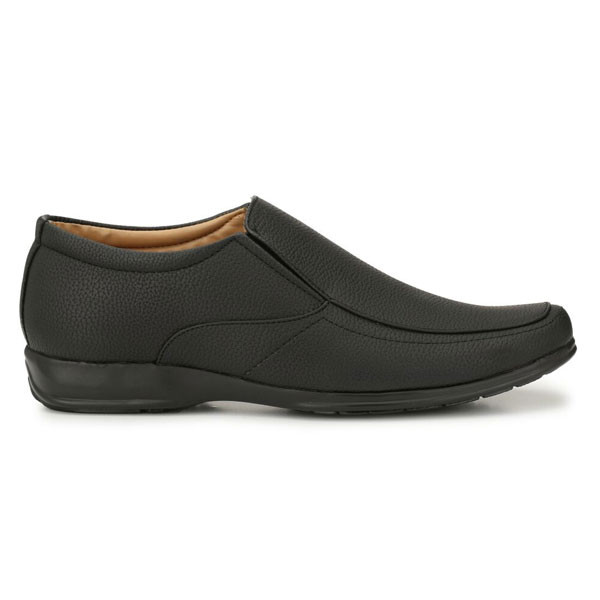 Blanc PURU-720500BM010/ Slip On/ Artificial Leather/ Size 10/ Black/ Formal Shoes