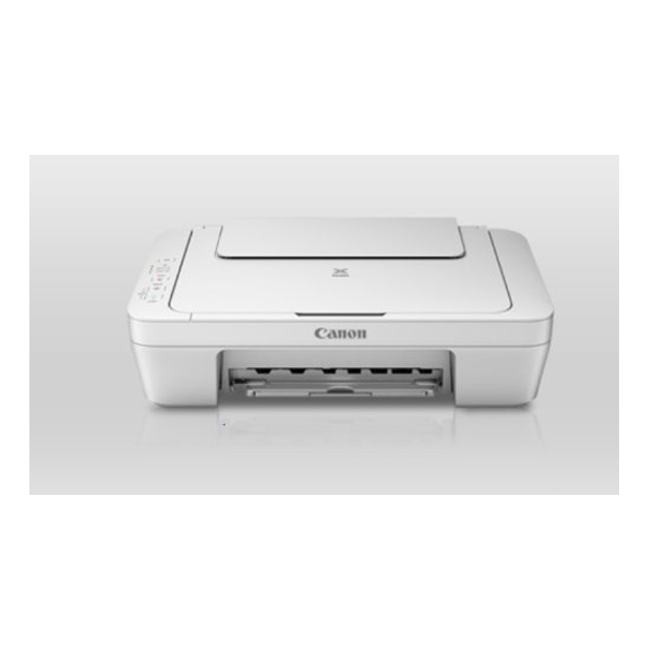 Canon MG2570 Colour Multifunction Inkjet Printer,(White)