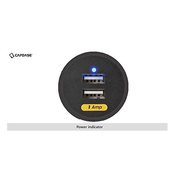 Capdase (CA00-RG01) Dual USB Car Charger (Black)
