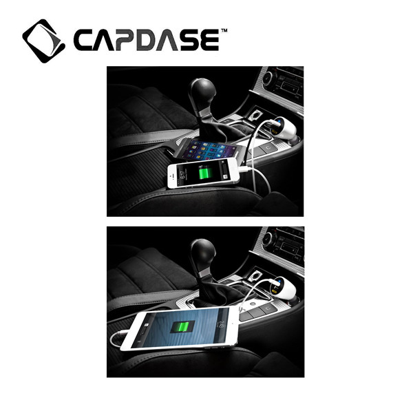 Capdase (CA00-RG02) Car Charger (White)
