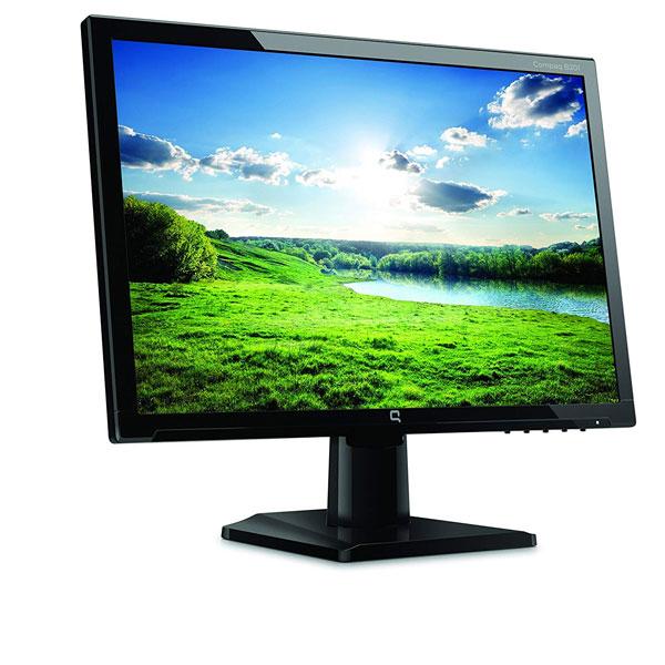 Compaq B191 LED Backlit Monitor 18.5-inch Screen (Black)