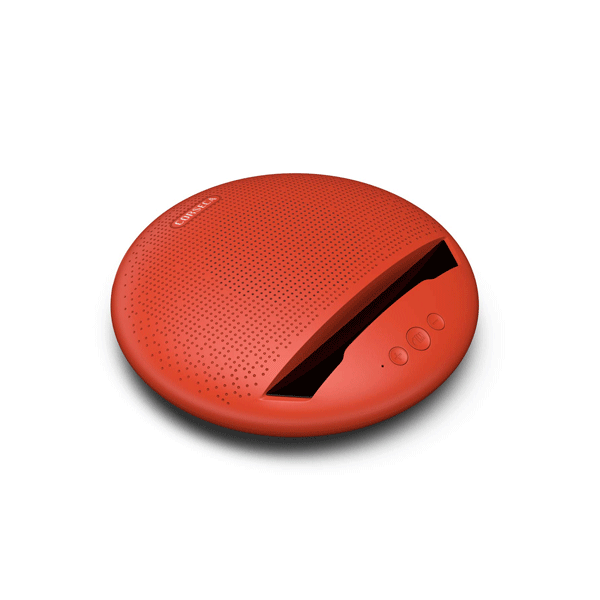 Corseca MUDISC DMS2380 Bluetooth Speaker (Blue,Red,Black,Grey)
