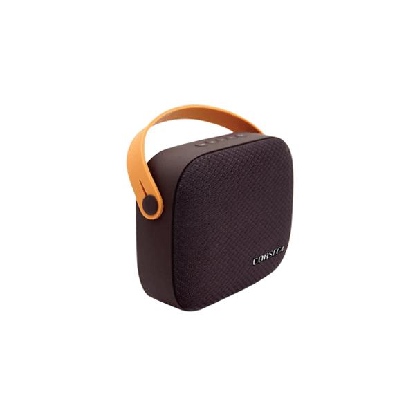 Corseca DMS2400 COOKIE Bluetooth Speaker (Red,Dark Brown)