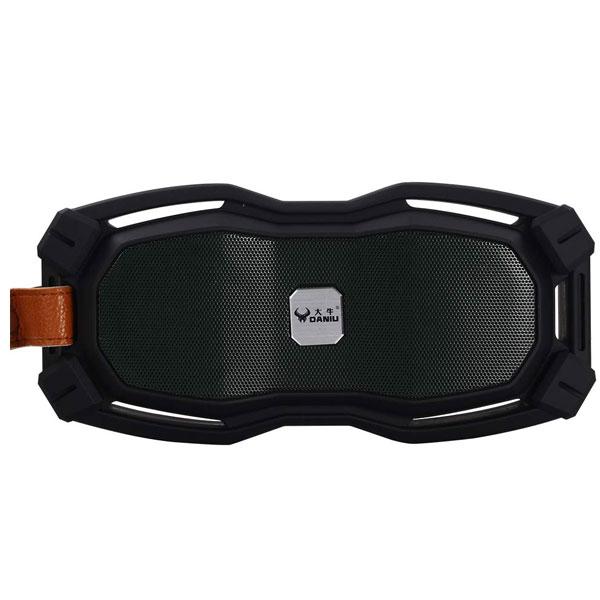 Debock Daniu-1608 10W Waterproof Fully Touch Bluetooth Speaker With Fm, Aux, Pendrive, MMC (Mix)