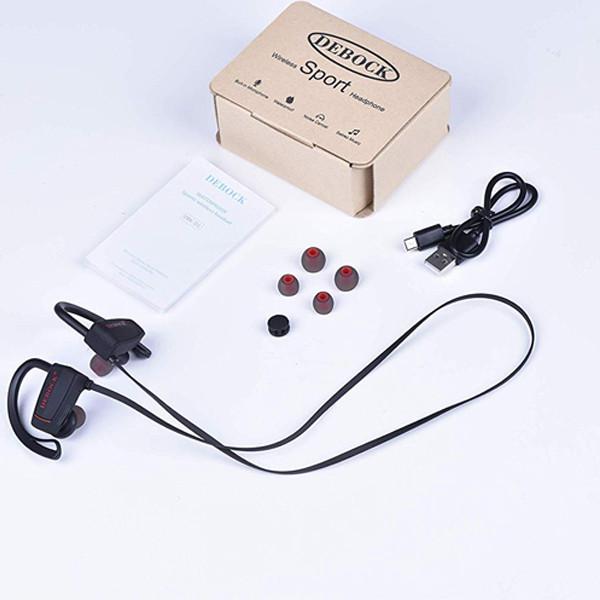 Debock D1 Sports Wireless Bluetooth Headset (Black)