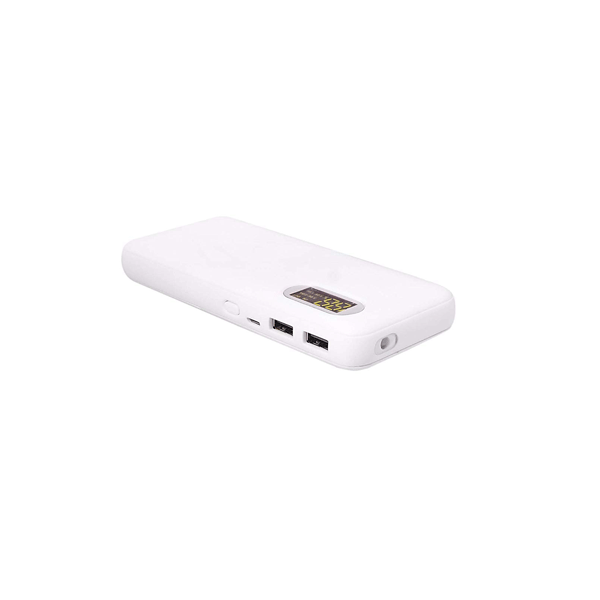 Debock DGWYT 13000mAH Lithium Ion Digital Power Bank (White)