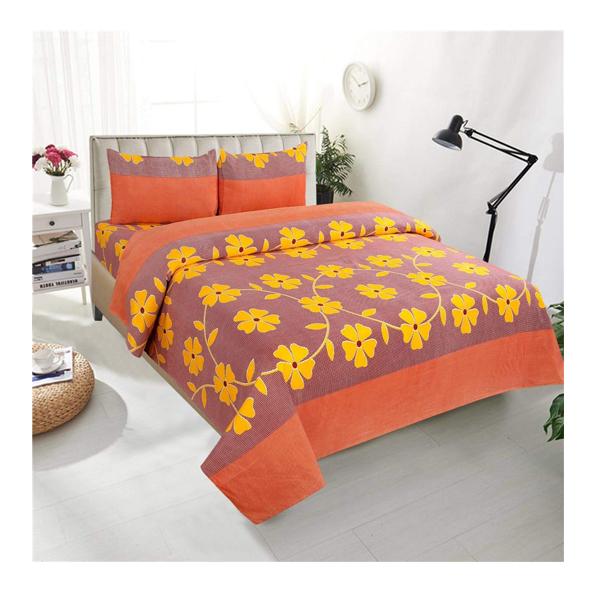 Dream Aura (B07Z86CR1R) Victorian Summer Dream, 100% Polyester Double Bedsheet with 2 Pillow Covers, DA017 (Multi)