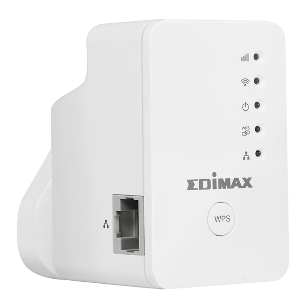Edimax EW-7438RPn Mini N300 Mini Wi-Fi Extender/Access Point/Wi-Fi Bridge White